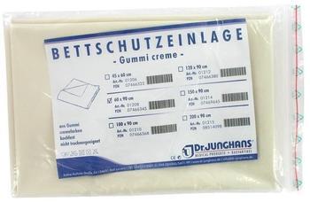 Dr. Junghans Medical Bettschutzeinlage Gummi 60x90cm