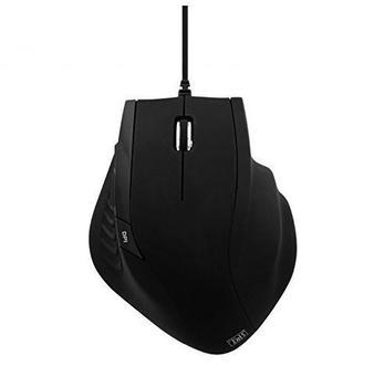 TnB Linie Ergonomische Maus schwarz