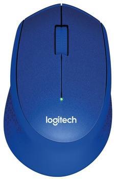 Logitech M330 Silent Plus Mouse blau
