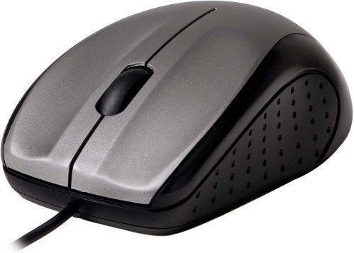 V7 Optische USB Maus (silber)
