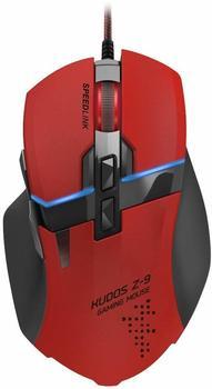 SPEEDLINK KUDOS Z-9 Gaming Mouse rot (SL-6391-RD-01)