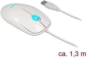 DeLock 12537 USB Typ A weiß