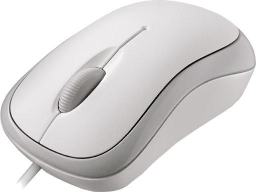 Microsoft Basic Optical Mouse for Business weiß