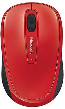 Microsoft Wireless Mobile Mouse 3500 rot (GMF-00195)