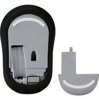 Renkforce Hygiene Funkmaus für Industrie Labor und Medizin IP53spritzwassergeschützt antimikrobiell EN6060 schwarz