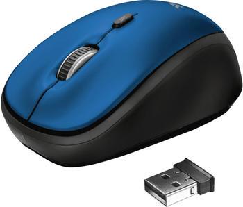 Trust Yvo Wendehülle für 15,6 Laptops mit kabelloser Maus (blau)