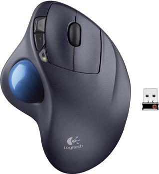 Logitech M570 RF Wireless Laser Schwarz Maus - Mäuse (Laser, RF Wireless, Schwarz)