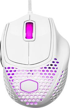 Cooler Master MM720 Gaming-Maus schwarz glänzend weiß