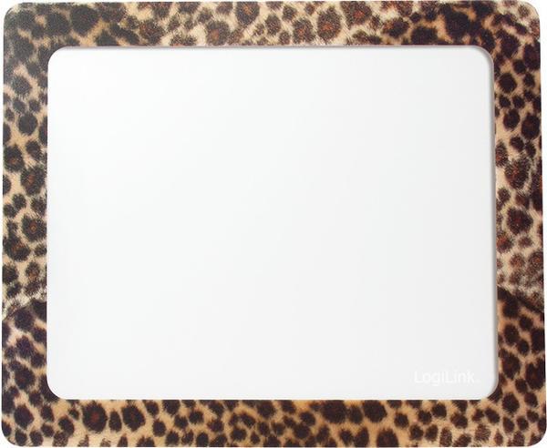 LogiLink Mauspad mit Fotoeinschub Leopard