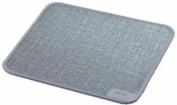 Hama Textildesign Mauspad grau