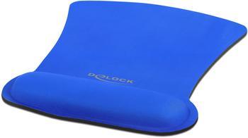 Delock DeLock Ergonomisches Mauspad mit Handballenauflage Blau