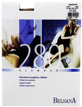 Belsana Glamour 280den Strumpfhose M perle