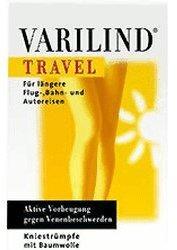 Varilind Travel Kniestrumpf Baumwolle L anthrazit