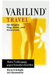 Varilind Travel Kniestrumpf Baumwolle S schwarz