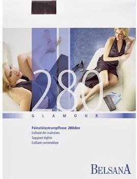 Belsana Glamour 280den Strumpfhose lang L schwarz