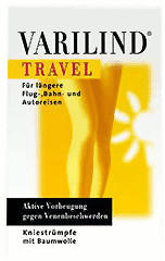Varilind Travel Kniestrumpf Baumwolle S beige