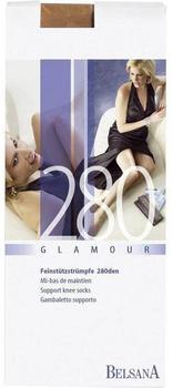 Belsana Glamour 280den Kniestrümpfe lang L sinfonie