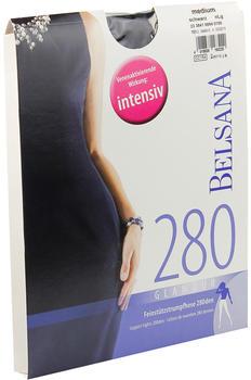 Belsana Glamour 280den Strumpfhose M schwarz