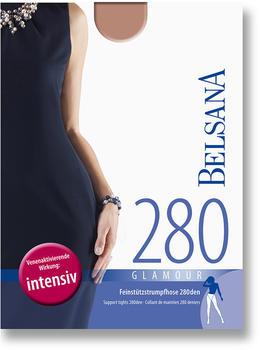 Belsana Glamour 280den Strumpfhose L perle
