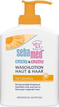 Sebamed Baby & Kind Waschlotion Haut & Haar mit Calendula (200ml)