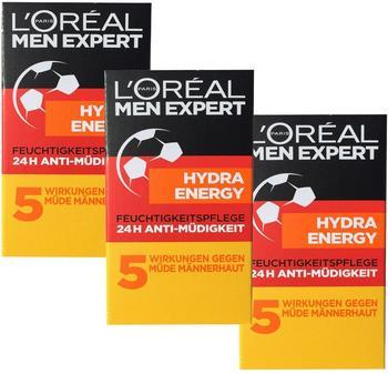 LOréal Paris Men Expert, Hydra Energy Feuchtigkeitspflege 24h Anti-müdigkeit Männerpflege
