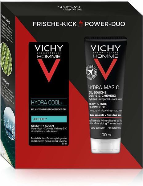 Vichy Homme Hydra Cool+ 50 ml + Hydra Mag C Duschgel 100 ml Geschenkset