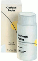 Dermapharm CLODERM Puder