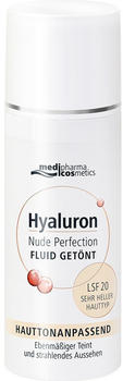 Medipharma Hyaluron Nude Perfection Fluid getönt sehr heller Hauttyp (50ml)
