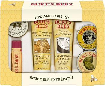 burts-bees-urlaubsgeschenkset-mit-6-produkten-in-reisegroesse-2-handcremes-fusscreme-nagelhautcreme-handsalbe-und-lippenbalsam