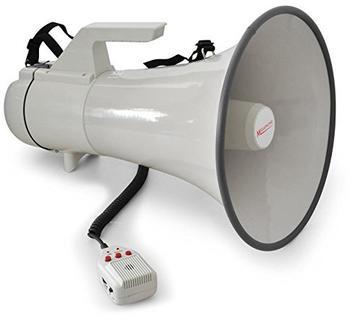 Auna Megaphone 45W 1,5 Kilometer Aufnahme-Funktion