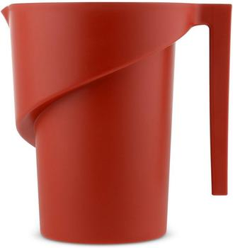 Alessi Messbecher Twisted 1,3 Liter rot