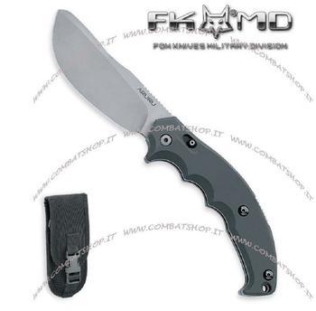 Fox Aruru, Stahl N690Co, glasperlengestrahlt,, Back Lock, Schiebesicherung, HPL-Schalen