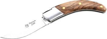 Fontenille Pantaud Taschenmesser mit Aufbewahrungsbeutel Zakmes RONDIARA 244112 Nussbaum