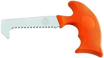 Puma TEC Knochensäge, rostfreier Stahl Aisi 420,, orangefarbener Kunststoffgriff, schwarzes Nylon-Gürteletui Sägen, Mehrfarbig, One Size