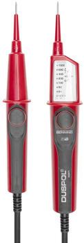 Gedore Spannungsprüfer 1000 V 2-polig mit LED-Anzeige (VDE 4616)