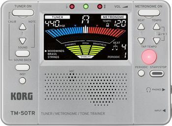 Korg TM-50TR SL Tuner-Metronom