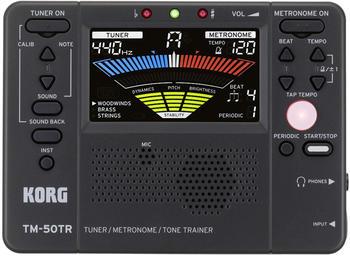 Korg TM-50TR BK Tuner-Metronom