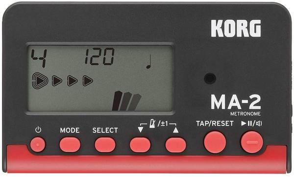 Korg MA2-BKRD LCD Pocket Digital Metronome