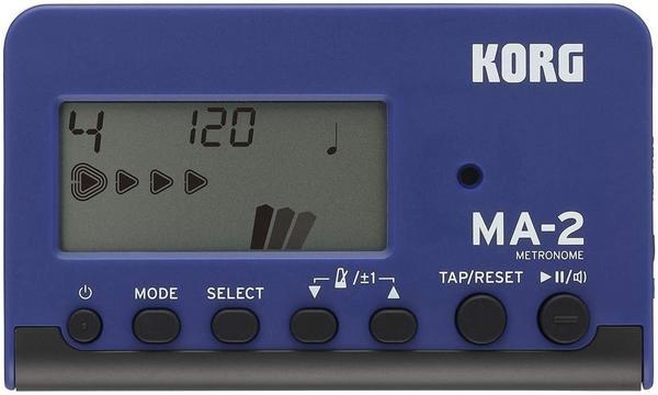 Korg MA2-BLBK LCD Pocket Digital Metronome