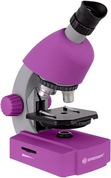 Bresser JUNIOR Mikroskop 40x-640x violet