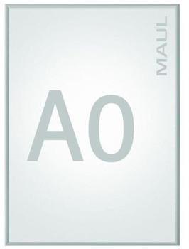 Maul Klapprahmen MAULstandard Verwendung für Papierformat: 1 x DIN A0 Innenbereich 6604008 Aluminiu