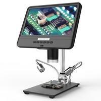 Andonstar AD208S 8,5-Zoll-LCD-Display 5X-1200X Digitalmikroskop 1280 * 800 Einstellbares