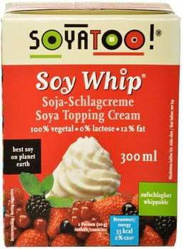Soyatoo! SOY WHIP Schlagcreme Soja 0,3l