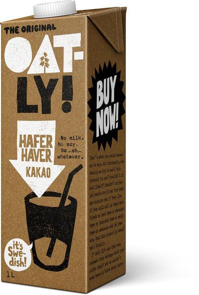 Oatly Hafer Drink Kakao 1l