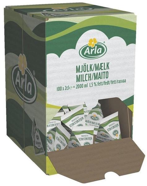 Arla Portionierte H-Milch Arla 1,5% (100x20ml)
