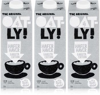 Oatly Haferdrink Barista Edition 1L 3er Pack