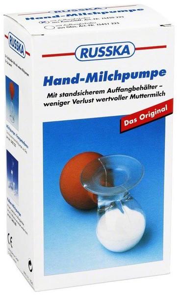 Ludwig Bertram Hand-Milchpumpe RUSSKA Glas