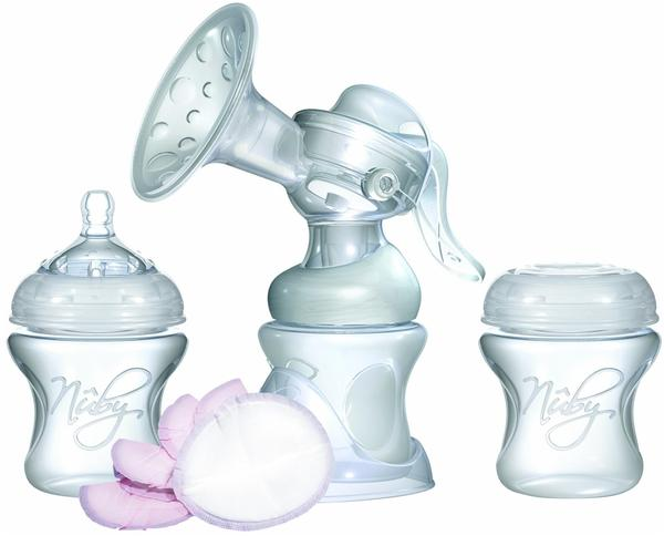 Nuby Milchpumpe Natural Touch