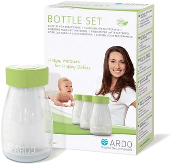 Ardo Bottle-Set Muttermilchflaschen (3 Stück)