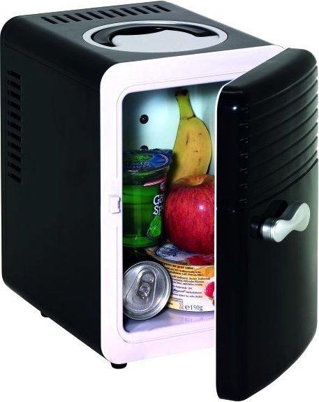 CHECK.IN Kühlschrank Mini schwarz
